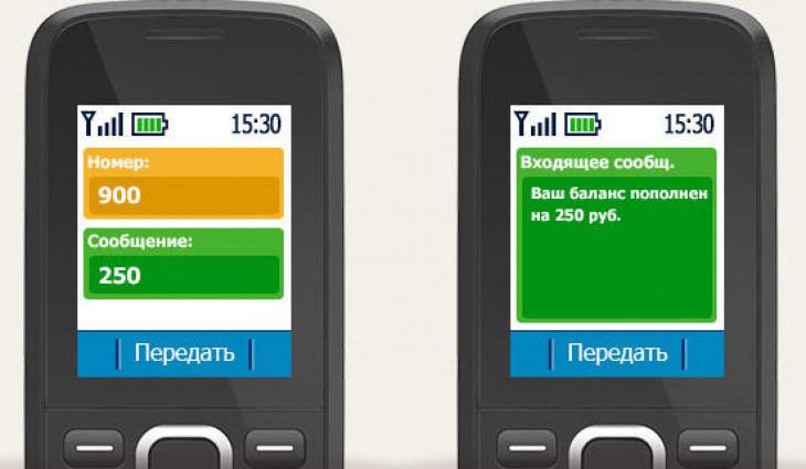 положить деньги на телефон с карты сбербанка через телефон