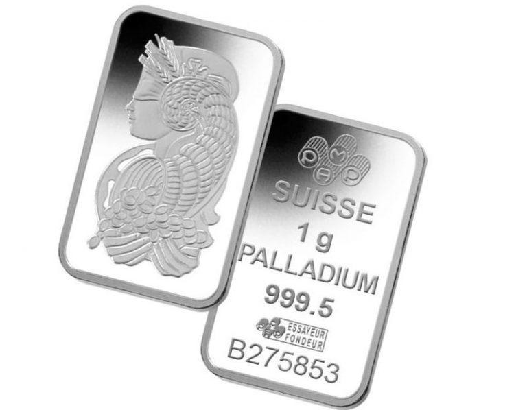 палладий курс за 1 грамм в рублях сбербанк