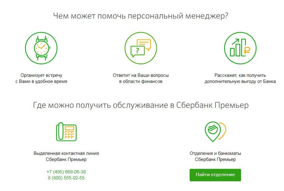 пакет услуг сбербанк премьер бесплатно