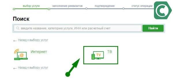 оплата телекарта через сбербанк онлайн