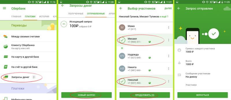 мобильное приложение Сбербанк.Онлайн